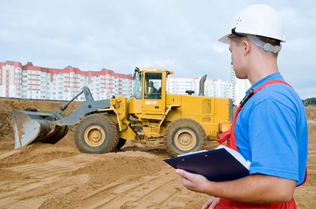 Man conducting a LOLER Inspection & Certification Service