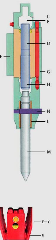 VH Range Hydraulic Vistarini Hammer