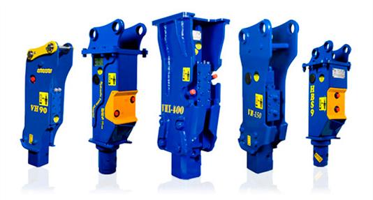 hydraulic vistarini hammers